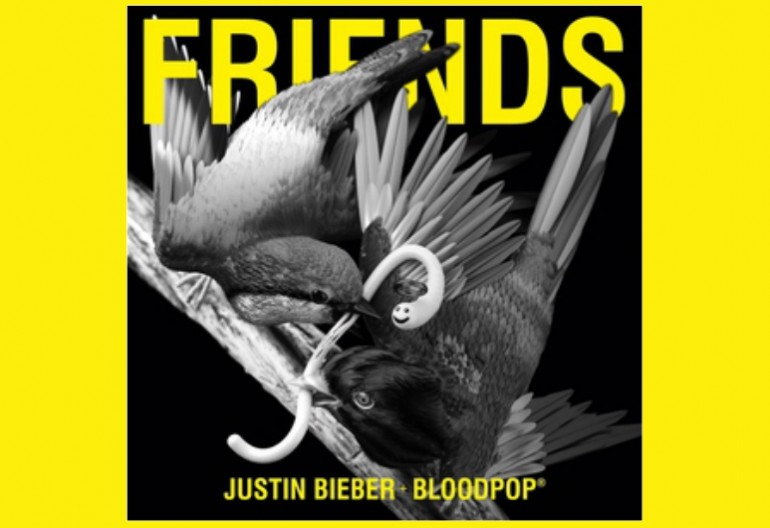"Justin Bieber And Bloodpop ""Friends"" RBMG/Schoolboy/Def Jam/Republic Records"