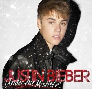 Justin Biebier Christmas album art
