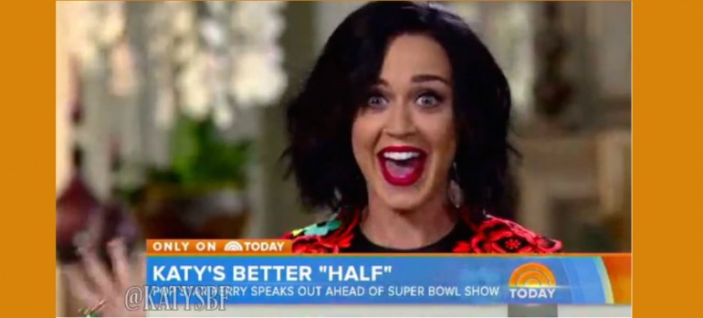 "Katy Perry On ""Today"" Show"