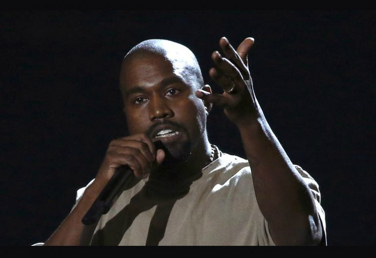 Kanye West Giving Video Vanguard Acceptance Speech At The 2015 Video Music Awards Via MTV