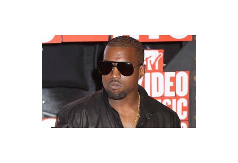 Kanye West At VMA's 2010