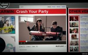 "Karmin ""Crash Your Party"" video still"