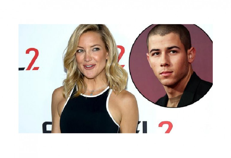 Kate Hudson/Nick Jonas Image via News.com,au