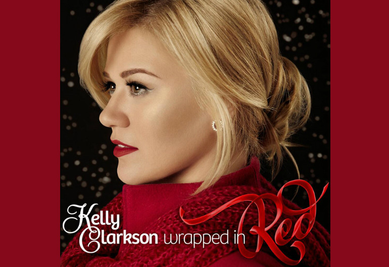 "Kelly Clarkson ""Wrapped In Red"" 19/RCA Records"