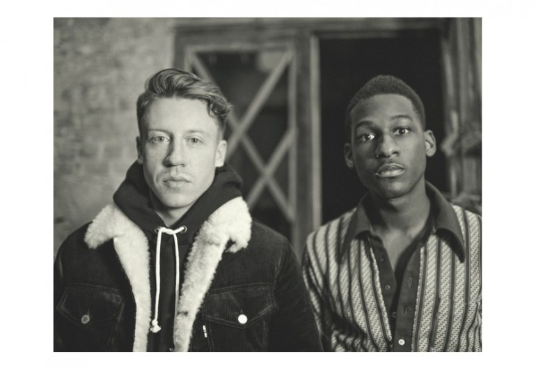 Macklemore With Leon Bridges Via Instagram