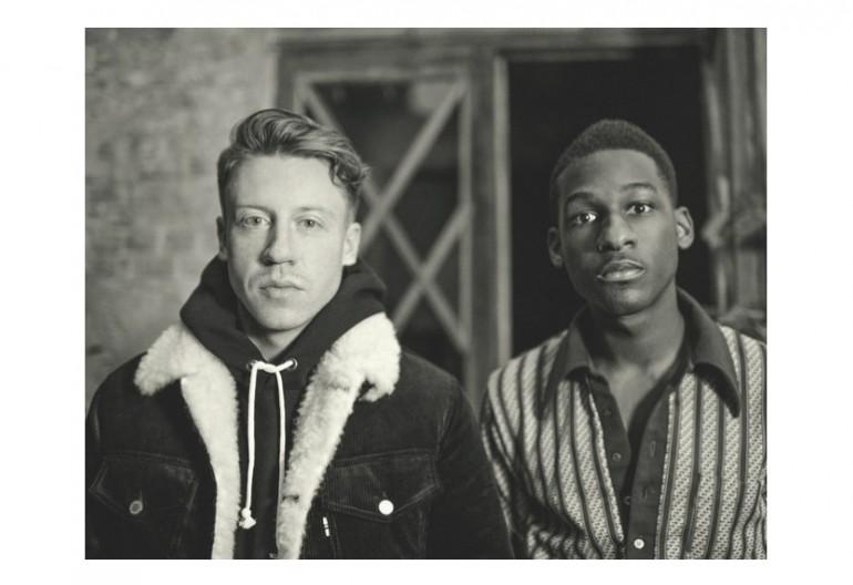 Macklemore With Leon Bridges Via Instagram