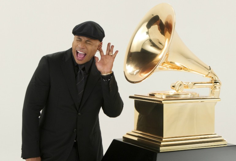 LL Cool J Grammy's Press Photo