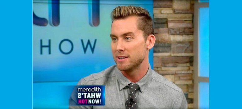 Lance Bass On The Meredith Vieira Show