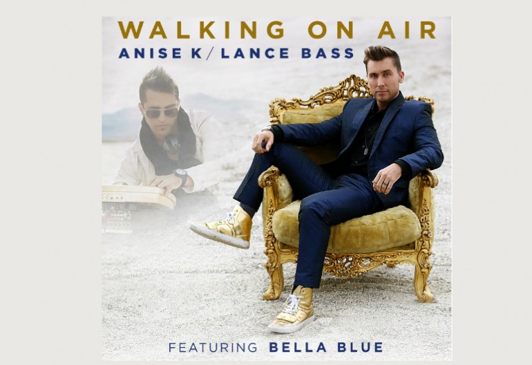 "Anise K & Lance Bass Featuring Bella Blue ""Walking On Air"" Global Vision Entertainment"