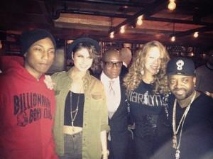 "Pharrell Williams, Leah Labelle, Antonio ""LA"" Reid, Mariah Carey, And Jermaine Dupri"