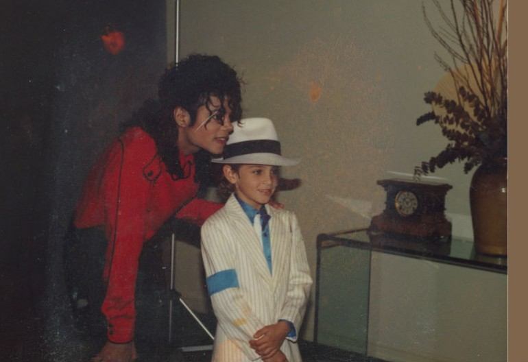 "Michael Jackson And Wade Robson In ""Leaving Neverland"" HBO/Channel 4"