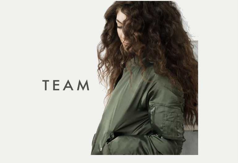 "Lorde ""Team"" Republic Records"