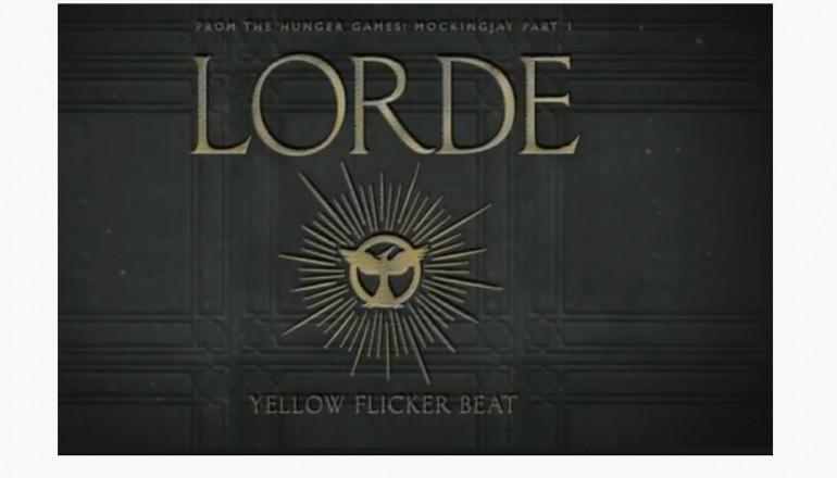 "Lorde ""Flicker Beat"" [LAVA/Republic Records"