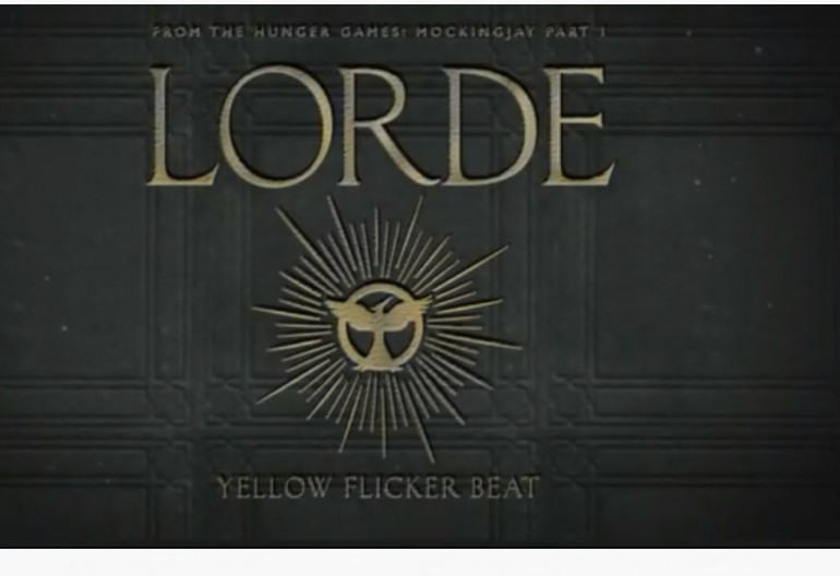"Lorde ""Flicker Beat"" [LAVA/Republic Records"