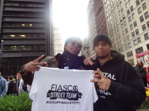 Lupe Fiasco At Ocupy Wall Street