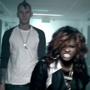 "MGK And Ester Dean In The ""Invincible"" Music Video EST19XX/Bad Boy/Interscope Records"