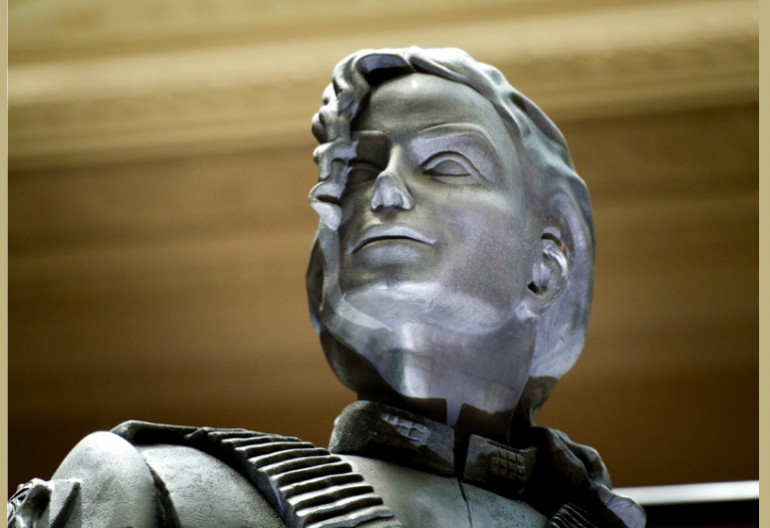 Michael Jackson Statue by Diana Walczak