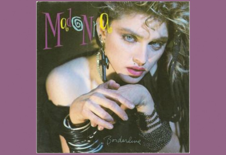 "Madonna ""Borderline"" Sire/Warner Bros"
