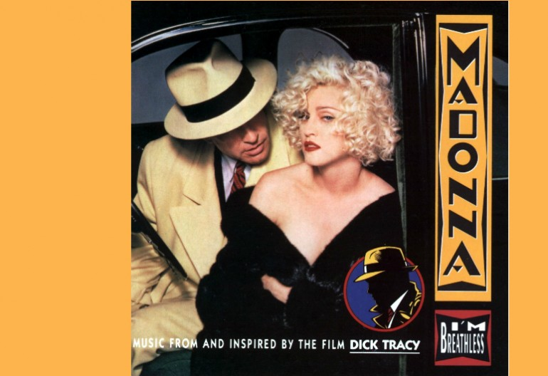 """Madonna """"I'm Breathless"""" Music From And Ubsoured By The Motion Picture Dick Tracy"""