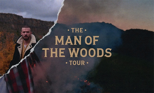 "Justin Timberlake's ""The Man Of The Woods Tour"" via RCA Records"