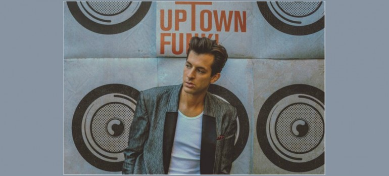 Mark Ronson Uptown Funk Press Shot