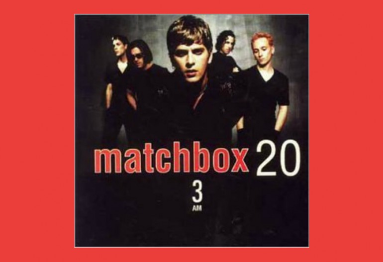 "Matchbox Twenty ""3 AM"" Atlantic Records"