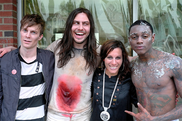Matt & Kim With Andrew W.K. & Soulja Boy