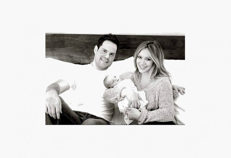 Hillary Duff & Mike Comrie With Son Luca