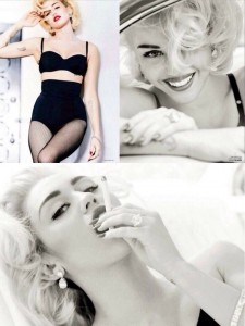 Miley Vogue Photos Via Twitter