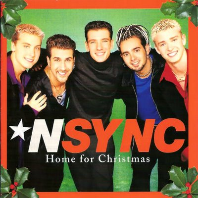 """*N Sync """"Home For Christmas"""" RCA Records"""