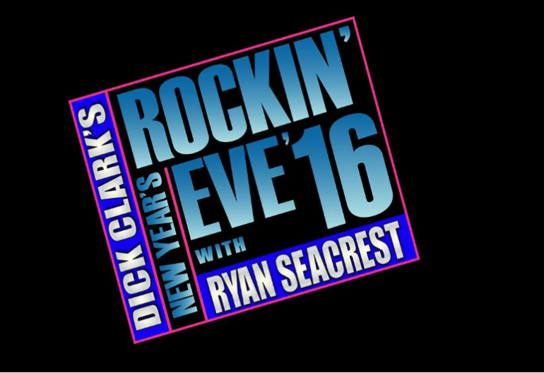 Dick Clark's New Years Rockin' Eve With Ryan Seacrest 2016 logo