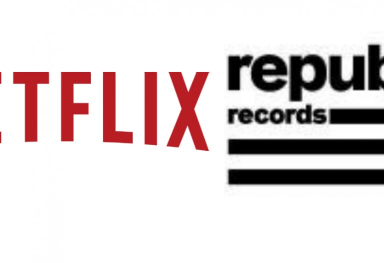 Netflix/Republic Records logos