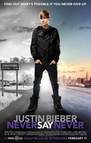 "justin bieber never say never poster. Justin Bieber ""Never Say"