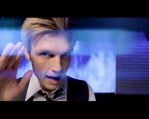 "Nick Carter In ""Burning Up"""