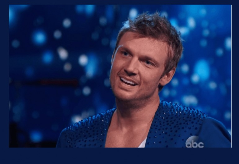 Nick Carter On Dancing With The Stars ABC