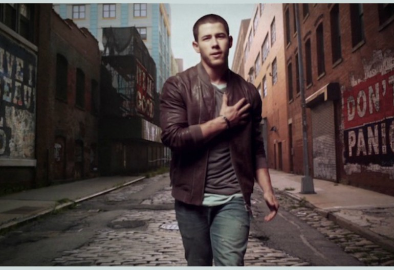 "Nick Jonas In ""Jealous"" Music Video"