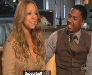 Mariah Carey & Nick Cannon With Barbra Walters On ABC's 20/20