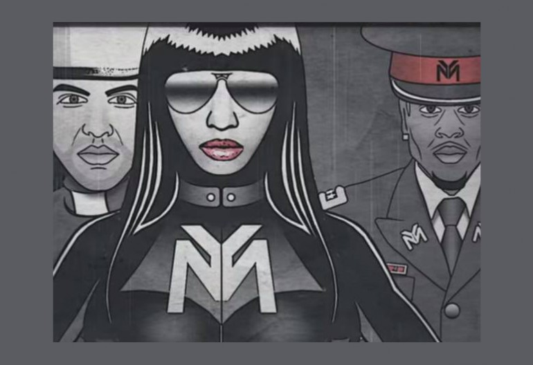 "Nicki Minaj Featuring Chris Brown, Drake and Lil Wayne ""Only"" (Lyric Video)"