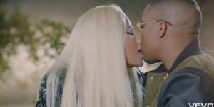 "Video Still From Nicki Minaj's ""Right By My Side"" Music video"