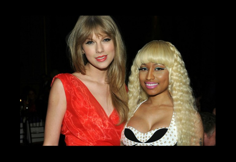 Taylor Swift And Nicki Minaj