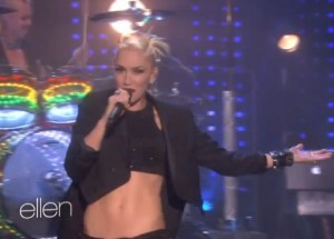 No Doubt Looking Hot Live On Ellen cropped