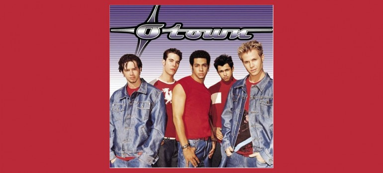 The cover art for O-Town's 2001 self-titled debut album.
