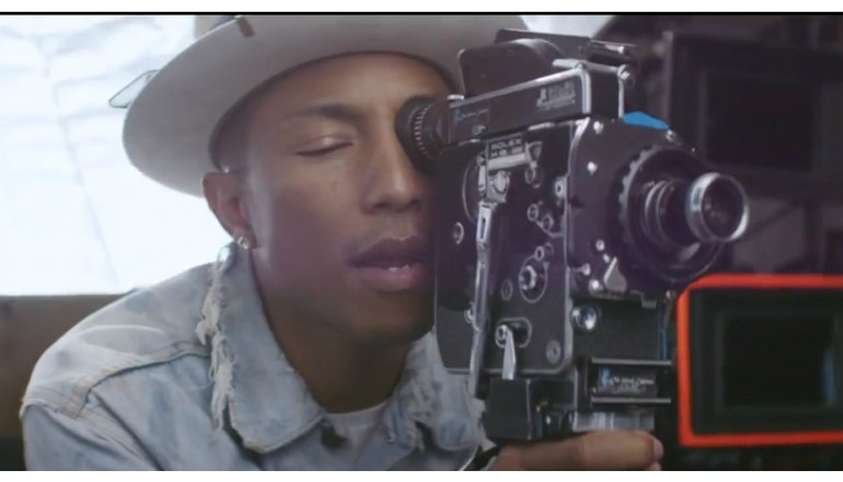 "Pharrell Williams in ""Come Get It Bae"" I Am Other/Columbia Records"