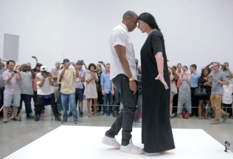 "Video Still From ""Jay-Z Picasso Baby: A Performance Art Film"""