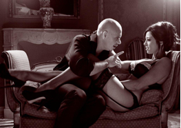 """Image From Pitbull's """"Get It Started"""" Music Video Featuring Shakira Polo Grounds/RCA Records"""