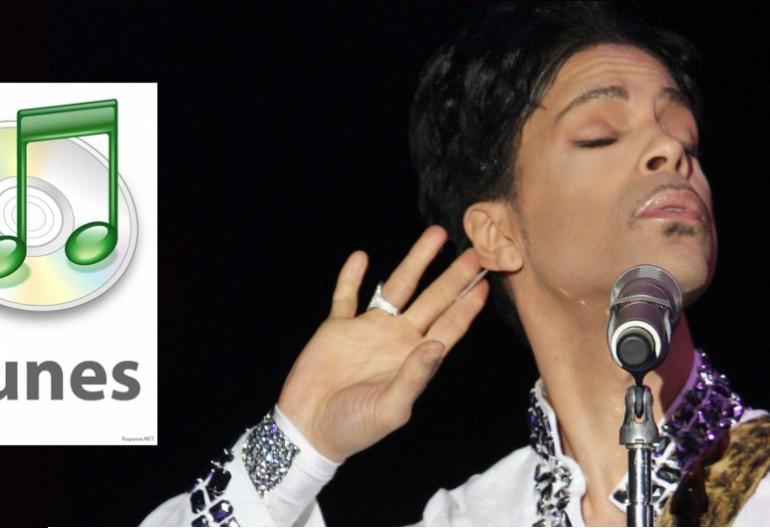iTunes logo/Prince