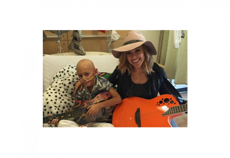 Rachel Platten With Jeremiah Succar At Children's Hospital  Los Angeles