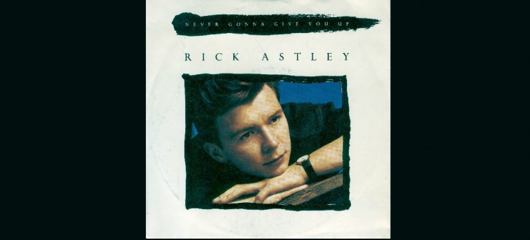 "Rick Astley ""Never Gonna Give You Up"" RCA Records"