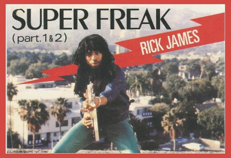 "Rick James ""Super Freak Cordy/Motown Records"