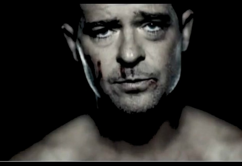 "Robin Thicke In ""Get Her Back"" Music Video"
